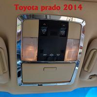 2014 FJ 150 2700/4000 Toyota Land Cruiser Prado Chrome Interior Reading Light Decoration Cover