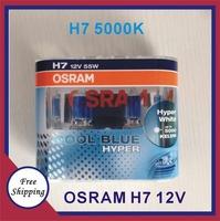 Original OS Cool Blue Hyper Halogen Headlight Bulbs H7 55W 5000k 1-Pack