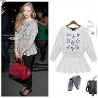 Lanluu Europe Brand New Autum Thick O-neck Knit Sweatershirt Slim Casual Women Sweaters Tops SQ689