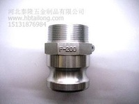 "F type -1/2"" DN15 SS316 camlock quick couplings"