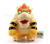 "10"" Super Mario Plush --Bowser Soft Stuffed Plush Toy Loose CJ323"
