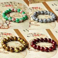 National trend accessories artificial imitation crystal bracelet basic simple elegant chromophous