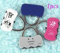 D19Mini Cute 3 Digit Combination Travel Luggage Suitcase Lock Padlock Security 25B/Free Shipping