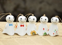 wind chimes white lovers doll japanese style bell