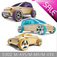Automoblox Mini A9-S/X9-X/M9 3-pack wooden cars mt09