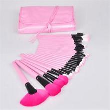 2014 New High Quality Makeup Brushes/Lovely 32Pcs Makeup Tools/Beautiful Pink Soft Makeup Brush Sets