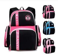 Free shipping 2014 new High quality children school pink girls bag korea children school bags mochila infantil burdens bookbags