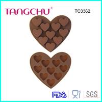 Love chocolate baking utensils ice lattice mold