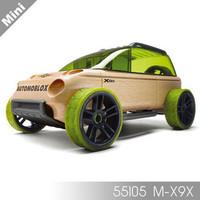 Automoblox X9X mini Sport utility Wood Toy New Box green mt15