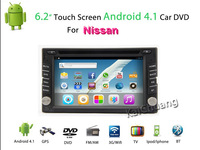 Factory Promotion!Universal 2Din Car DVD FOR MICRA 2002-2010 Pure  Android  4.2 3G Wifi  GPS Navigation Audio Radio , Bluetooth