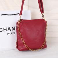 Free  shipping 2014 spring bucket bag handbag cross-body bags multicolour fashion women's handbag small bag