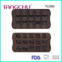 Animal shaped chocolate mold silicone baking tool