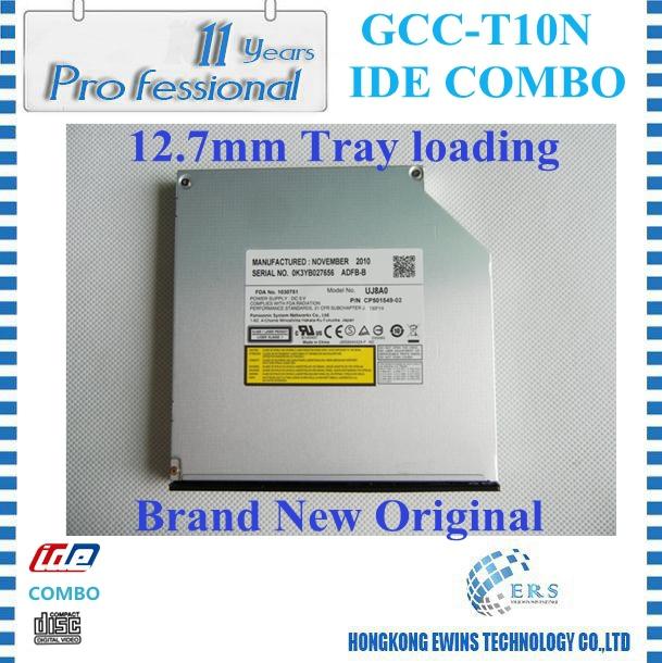 Накопитель на оптических дисках ERS CDRW /DVD/ROM IDE gcc/t10n GCC-T20N linux на ноутбуке dvd rom