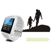 5 pcs x  Bluetooth V2.0  1.48 inch U8 Bluetooth Watch For smartphones, tablets and PCs IOS Phone 4, 4S, 5, 5S, Note 2/3/4