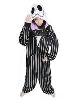 New Nightmare Before Christmas Jack Skellington Anime Fashion Pajamas Pyjama Cosplay Costumes Adult Onesies Halloween Costume