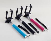 Handheld Self Timer Monopod Telescopic Extendible Stand Holder for mobile phone