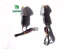 2014 Hot Sale 12V 2 x Motorcycle 12 LED Turn Signal Indicators Lights Light Universal Free