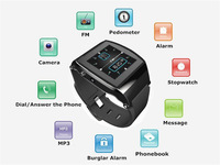 "New arrival Bluetooth V3.0+EDR 1.55"" U8 U Pro Bluetooth Smart  Watch  Wrist Watch Phone For Android Phone Samsung HTC LG"