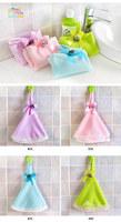 FREE SHIPPING Silk lace round grade microfiber kitchen towel hanging towel