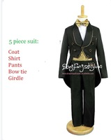children's clothing male child tuxedo   flower girl child birthday party evening suit (for 1-4 years)
