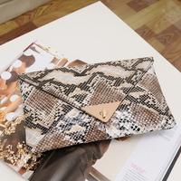 Vintage serpentine pattern women's handbag clutch bag 2014 female bags hand to take small evening bag banquet bag free shipping