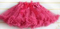 children pettiskirts beautiful girls ball gown skirt lovely  girls princess kids tutu bowkont skirts cd23-10