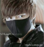 Lee Min Ho with paragraph 10 pcs fashion warm cotton dust Face masks black Face masks wholesale shipping K3156