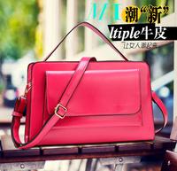2014 Classic ltiple Messenger bag restoring ancient ways /Leather Single shoulder women Handbag freeshipping