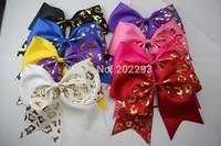 shiny leopard ribbon of  cheerbow