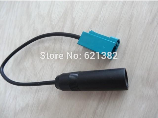 Free shipping Antenna cable, radio antenna original car CD player antenna converter cable for VW Passat SAGITAR MAGOTAN(China (Mainland))
