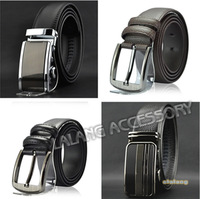 2014 New Arrival 1pcs Charming Men Real Leather Automatic Buckle Pin Buckle Belt Fashion belts for Men EJ671991
