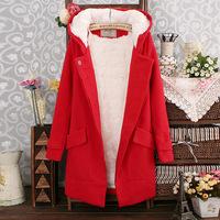 2014 Winter Women's Long Trench Coat Thicken Warm Parka Lambs Wool Jackets Leisure Woolen Outerwear New Arrival wholesale A924