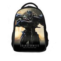 Free Shipping 2014 New Good Quality Boys Transformers school bag Kids Cartoon bags Baby backpacks Kids Printed school backpack
