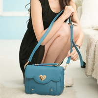 Pg beauty 3768 networks fresh quality handbag cross-body one shoulder women's small fashion handbag 2014