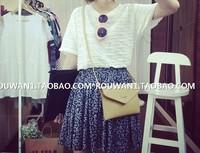 New 2014 Summer Fashion Skirts womens skirt Vintage  Chiffon Women Skirts Casual Floral  Short  Skirts Free Shipping
