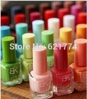 2014 New Hot Sales 20pcs/lot DIY Nail Polish Candy Color Quick Dry Makeup Nail Art Oil Free Shipping