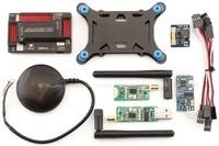 APM 2.6 Controller+GPS+3DR Radio+OSD+Current Sensor +Shock Absorber fr ArduPilot