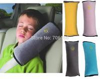 Car Shoulder Neck Strap Pillow Car Safety Seat Belt Cushion Harness Comfortable Seat Belt Shoulder Pad ,2pcs/lot,free shipping