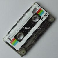 Brand New Retro Cassette Magnetic Tape Pattern Design Hard Back Case Cover For LG P760 Optimus L9 #FE90 Free Shipping