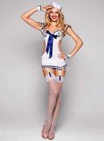 BeautyWill Women's Sexy Japanese School Girl Sailor Uniform Cosplay Costume