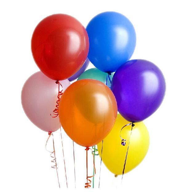 الشحن مجانا زفاف البالونات 100pcs/lot 1.2g عيد ميلاد الحزب الديكور زفاف بالون هيليوم اللاتكس