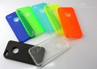 Wholesale - Soft TPU Gel S Line Wave Grain Back Case Cover Skin For Apple iphone5 iphone 5 5G 5th 50PCS/lot