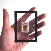Free shipping Card Changing Frame -- Card Trick Magic