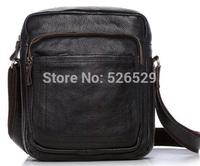 Free Shipping men vintage casual designer bag quality genuine leather handbag cowhide commercial business shoulder messenger bag