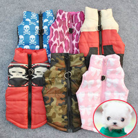 wholesale Low Price Pet Cat Dog Clothing Soft Padded Vest Harness Puppy Small Dog Coat Clothes Free Shipping