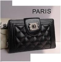 New 2014 Fashion Genuine Leather brand wallets bolsas femininas purse
