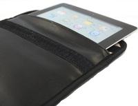 black pu signal blocking bag for MID 9.7 inch tablet PC,radiation protection bag,Anti-degaussing 30pcs/lot free ship dhl