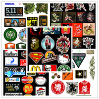 50pcs of different design tactical stickers army stickers wall navy stickers wholesale free shipping