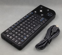 wireless air fly mouse Real QWERTY full-function mini keyboard