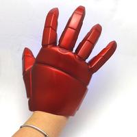 Free Shipping!Superhero Iron Man Mark 3 Gloves with LED Light PVC Action Figure Toy 1pcs IR0013